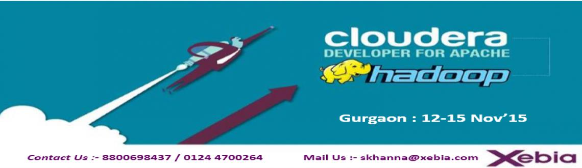 Cloudera Developer Training For Apache Hadoop| Gurgaon | 12-15 Nov 2015