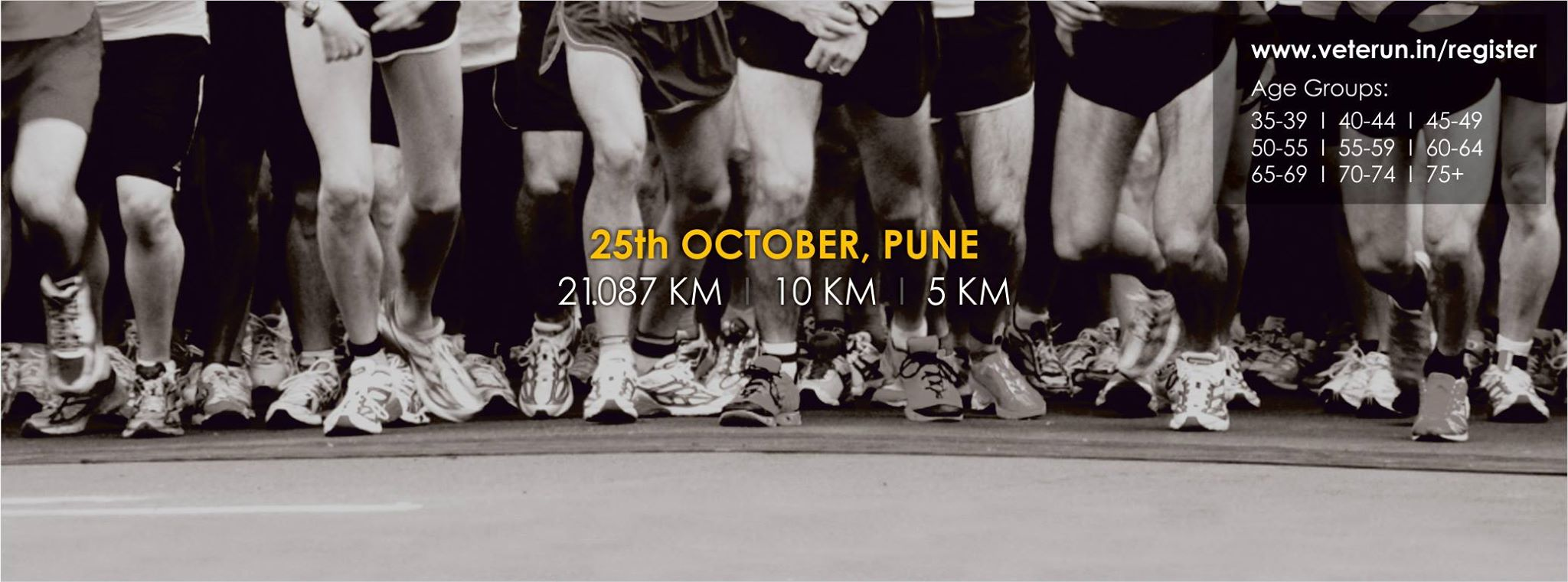 Book Online Tickets for VETERUN, Pune. A Unique Half Marathon for Veterans / Masters!