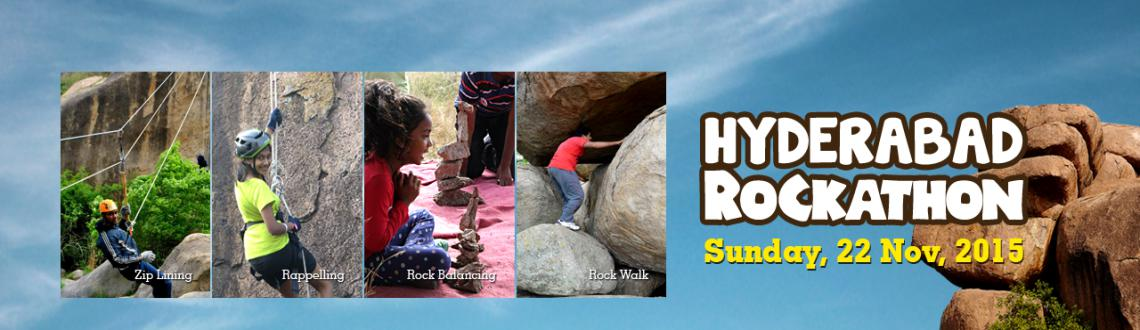 "Book Online Tickets for Hyderabad Rockathon 2015, Hyderabad. The Great Hyderabad Adventure Club and the Society to Save Rocks  are conducting the Fourth""Hyderabad Rockathon 2015"" to highlight the preservation of our stunning Deccan rockscapes for adventure sports, recreation and environmental"