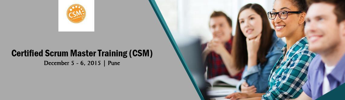CSM, Certified ScrumMaster, Pune Dec 5-6