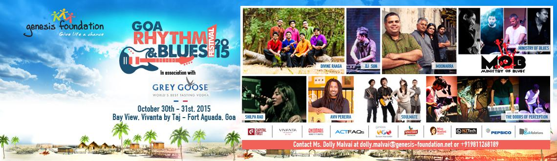 Goa Rhythm Blues Festival 2015