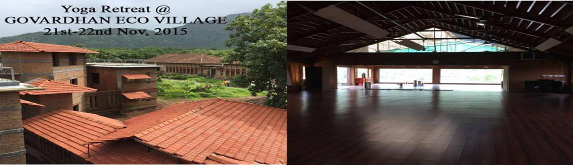Yoga Retreat at Govardhan Eco Village