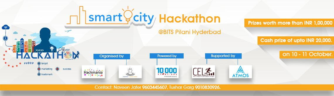 Smart City Hackathon BITS Hyderabad