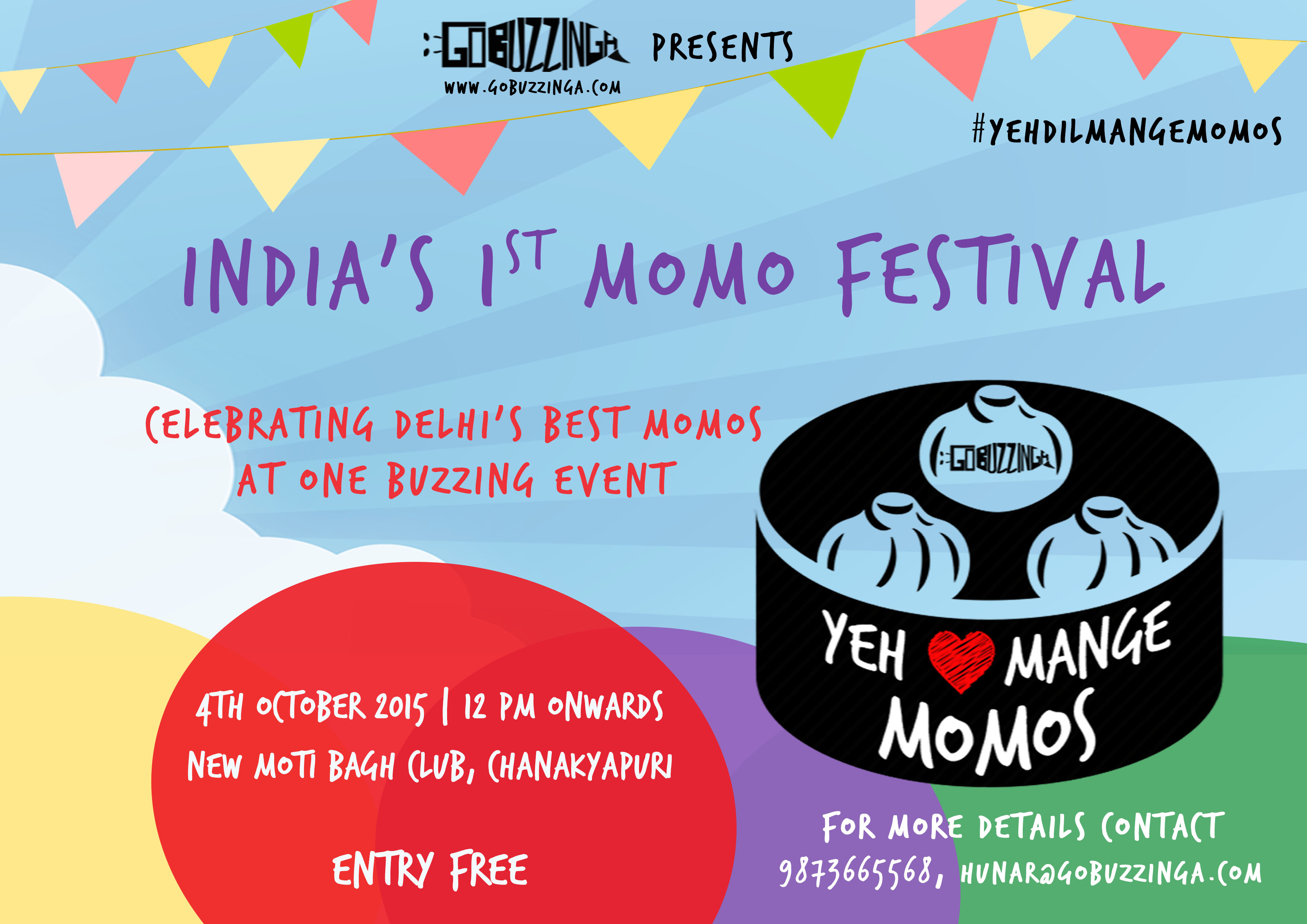 GoBuzzingas Yeh Dil Mange Momos - Indias First Momo Festival
