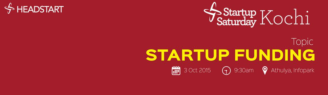 Headstart Startup Saturday Kochi - October 2015