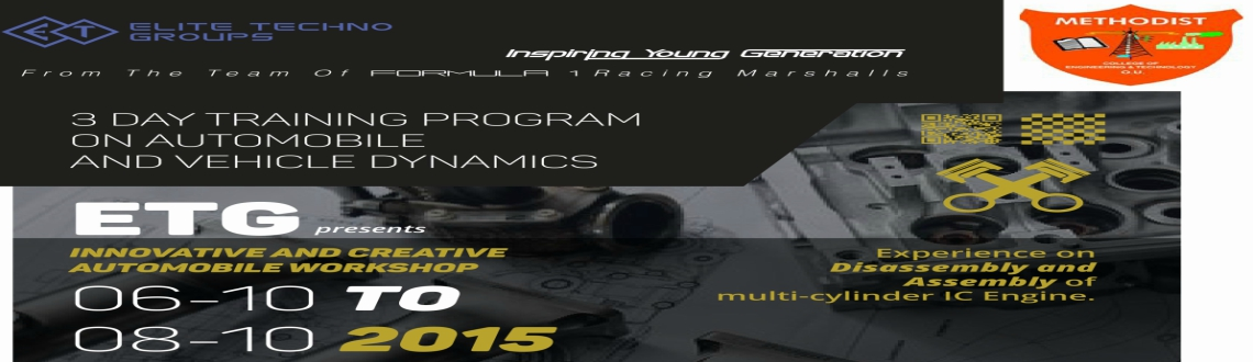 3 DAY TRAINING PROGRAM  ON AUTOMOBILE  AND VEHICLE DYNAMICS