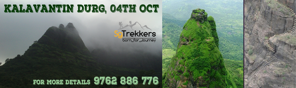 SG : Trek To KALAVANTIN DURG : 04th OCt