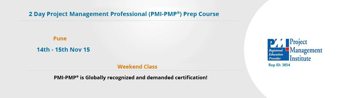 PMP Exam Prep Course in Pune