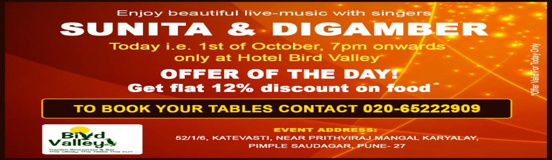 Thursday live-music events in Pune at Hotel Bird Valley