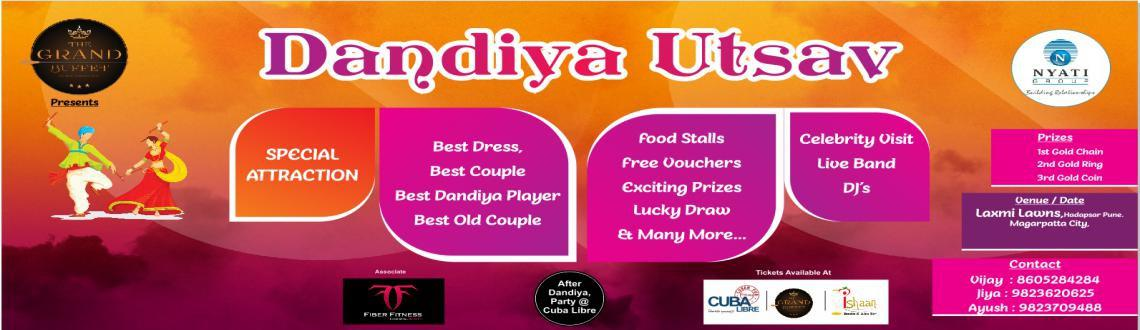 Book Online Tickets for Dandiya utsav at Laxmi lawn, Pune. Event date: 16 Oct to 18 Oct