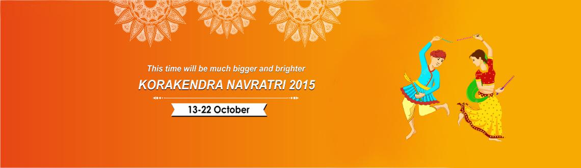 Book Online Tickets for Kora Kendra Navratri 2015, Mumbai. Naidu Club Kora Kendra Navratri 2015