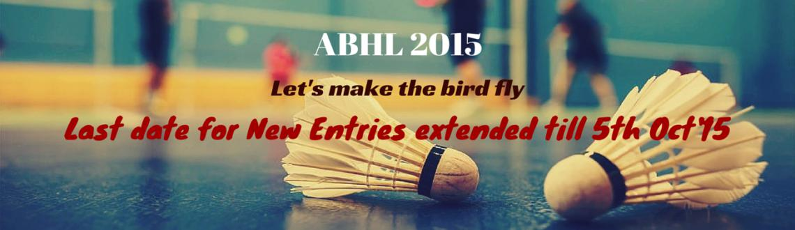 Amateur Badminton Hyderabad League 2015