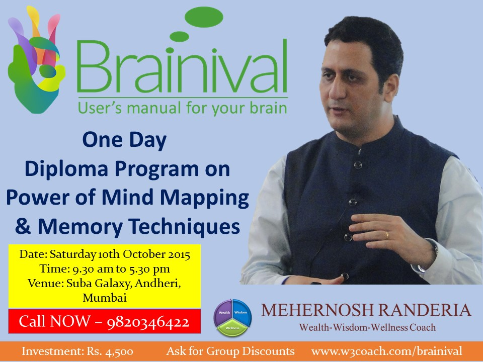 Brainival Diploma - Mind Mapping and Memory Techniques