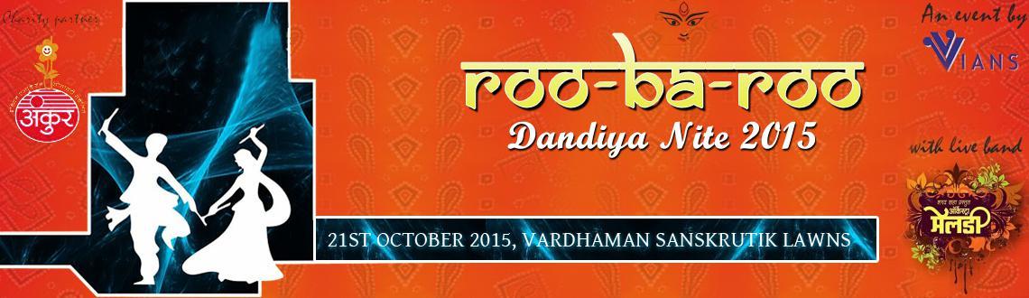 RooBaRoo Dandiya Nite 2015