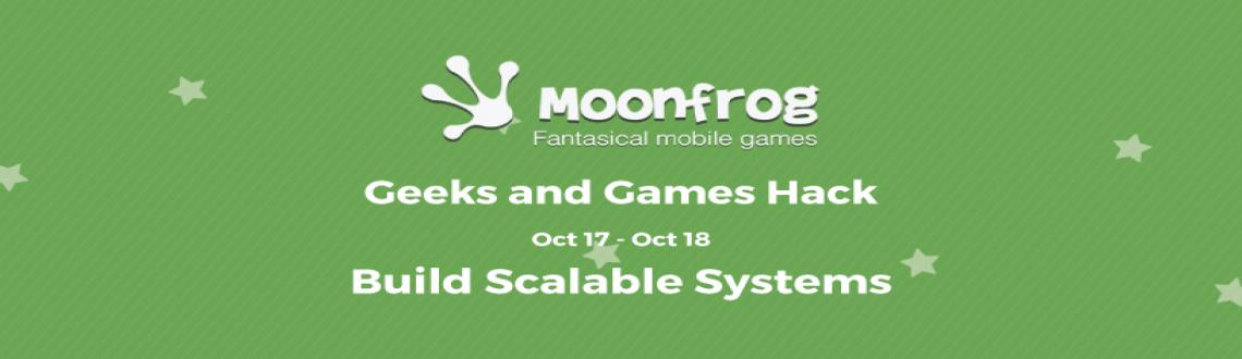 Book Online Tickets for Moonfrog - Geeks and Games Hack, Bengaluru. This Hackathon is organized by Moonfrog, India's no 1 mobile game developer company started by ex-Zynga, ex-Google executives backed by Tiger Global and Sequoia.