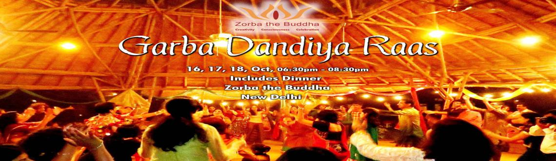 Book Online Tickets for Garba Dandiya Raas, NewDelhi. This Navratri, come join us for three evenings of spiritual celebration with Garba Dandiya Raas! This dance symbolizes Goddess Durga's fight with the demon-king, Mahishasura. We will all dance together as a community, using a pair of sticks, wh