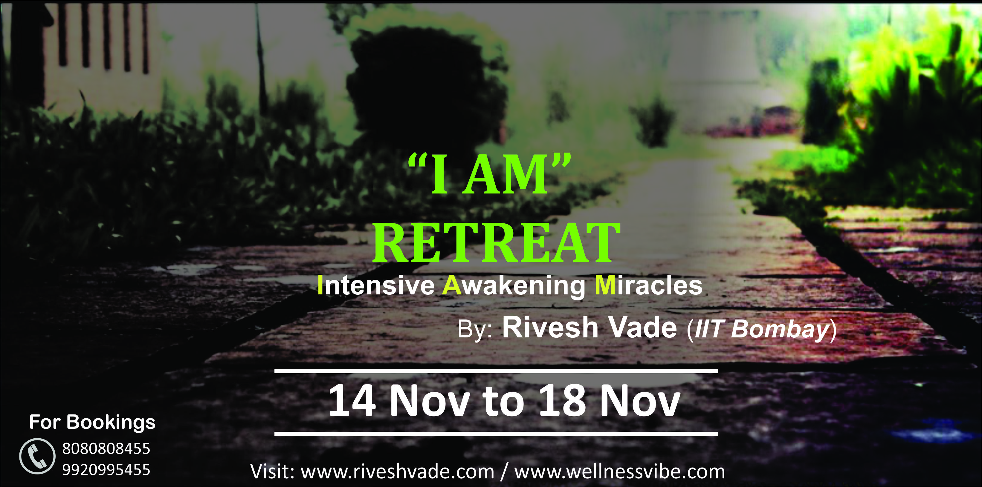 I AM Retreat (Intensive Awakening Miracles)