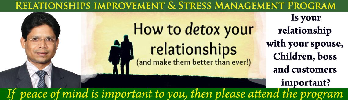 Book Online Tickets for Improve your Relationships  with self, b, Hyderabad. 