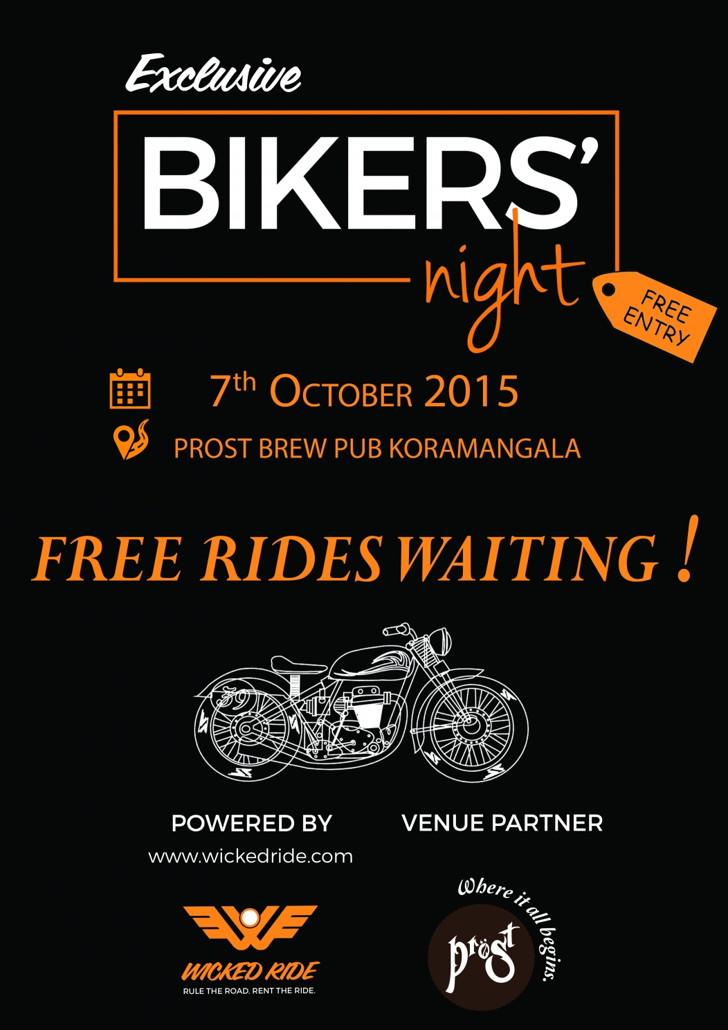 Bikers Night