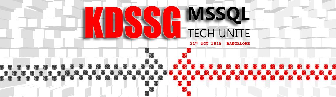 KDSSG MSSQL Tech Unite (SQL Server DBA Community Event)