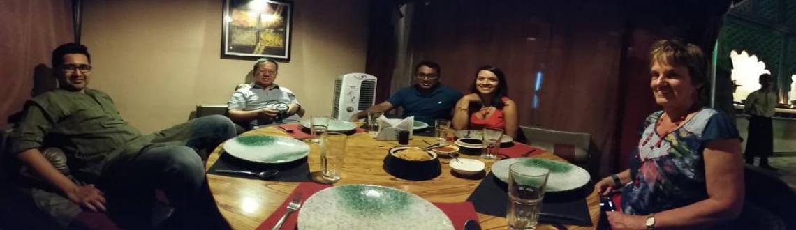 Cutchi Dastarkhwan : A Muslim dining experience.