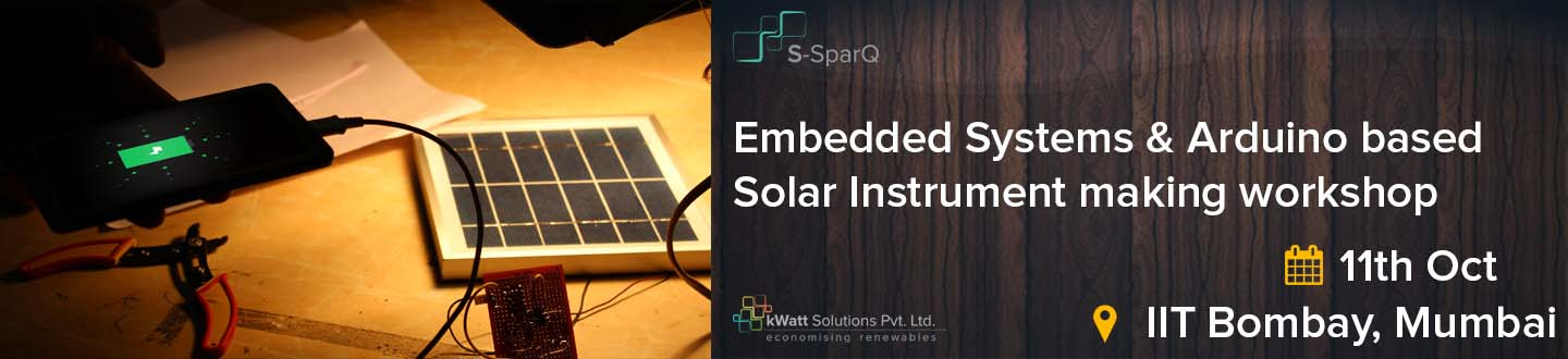 Embedded Systems  Arduino based Solar Instrument Workshop
