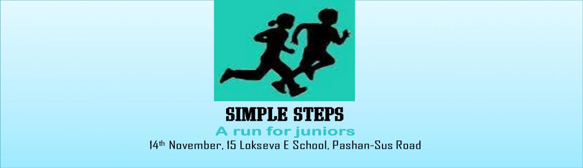 Book Online Tickets for Simple Steps, Pune. Simple Steps  - a Marathon for juniors on 14 th Nov 2015! A great way to celebrate children\\'s day.