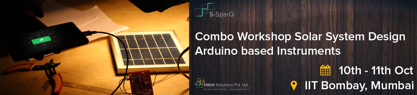 Book Online Tickets for Combo Workshop - Solar System Design  Ar, Mumbai. 