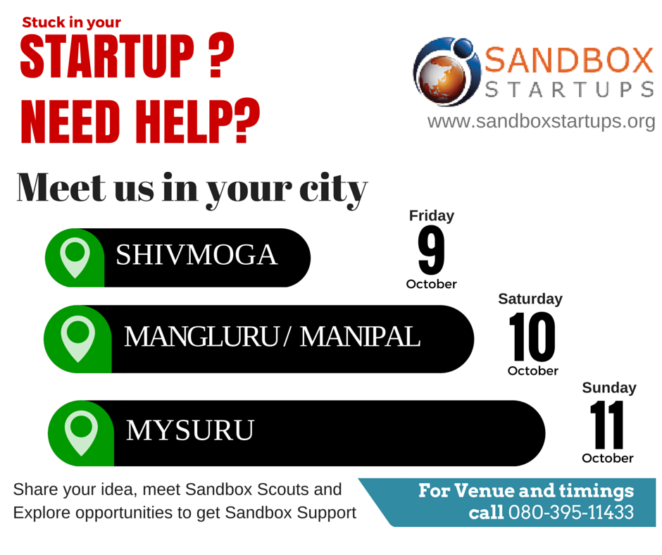 Book Online Tickets for STARTUP MEET Copy Copy, Mangalore. We provide incubation support and co-working space to mission-driven entrepreneurs with innovative ideas. We provide mentorship, access to funding, marketing connections and necessary resources to achieve better growth.