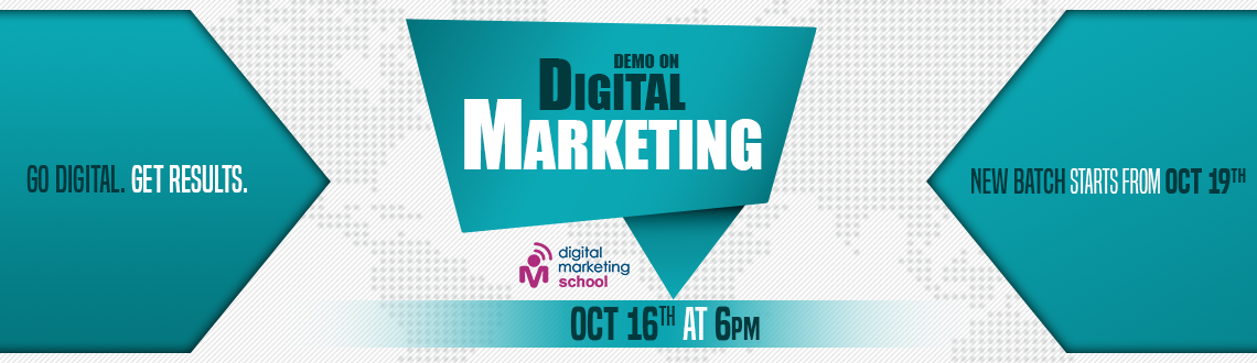 Book Online Tickets for Demo On Digital Marketing, Hyderabad. Demo On Digital Marketing: