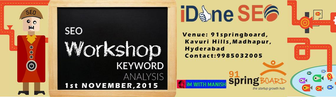 SEO Keyword and Competitive Analysis Workshop