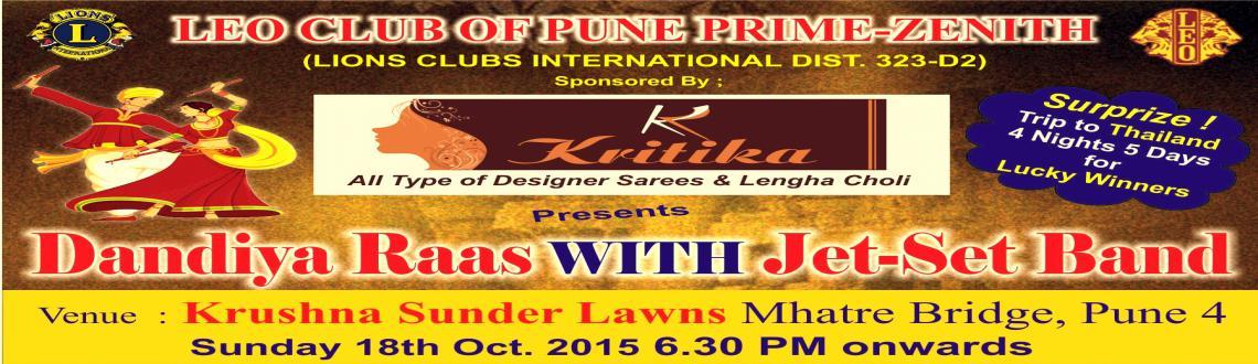 Leo Club of Pune Prime Zenith Presents Dandiya Rass 2015