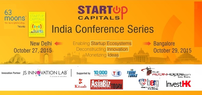 Book Online Tickets for StartUp Capitals India Conference Series, NewDelhi. Startup Capitals (www.startupcapitals.com) is a thought-leadership conference that celebrates the innovation/startup ecosystem of cities that are making a mark on the world map. It brings together all the stakeholders in a startup ecosystem