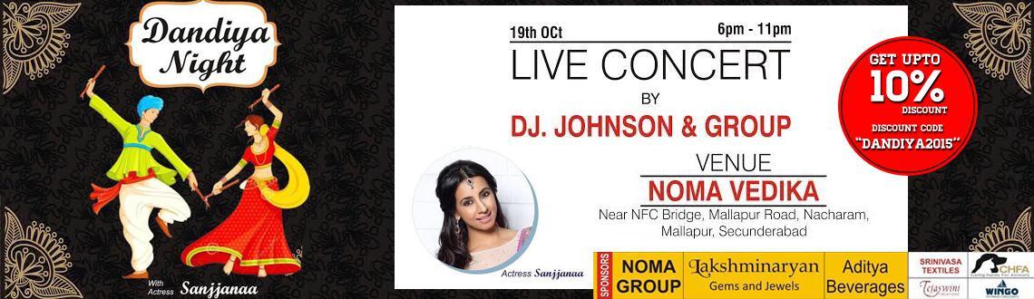Book Online Tickets for Dandiya Night with Actress Sanjjanaa, Hyderabad. Dandiya Night atNacharam withActress Sanjjanaa, DJ Jhonson and group