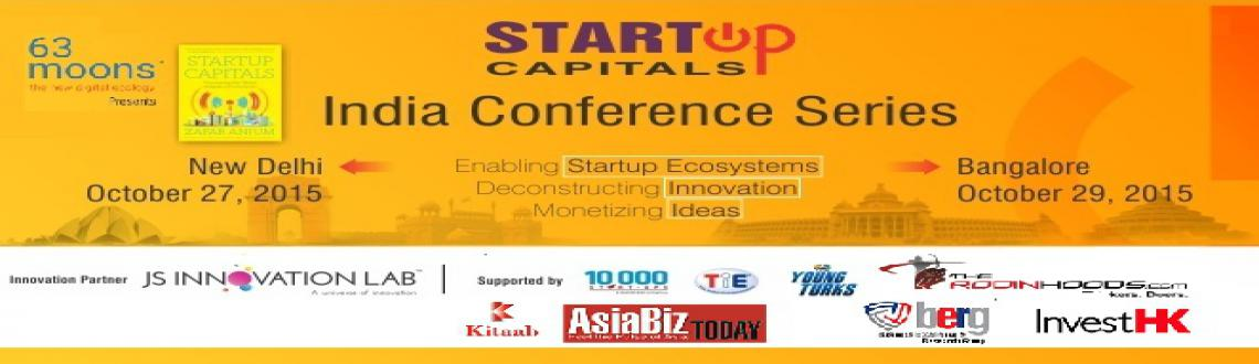 StartUp Capitals India Conference Series Bangalore