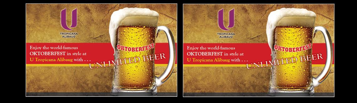 Oktoberfest at U Tropicana Alibaug with Unlimited Beer