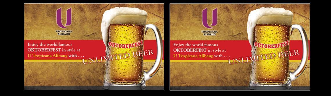 Oktoberfest at U Tropicana Alibaug with Unlimited Beer