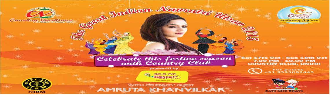 Book Online Tickets for The Great Indian Navratri Utsav, Pune. The Great Indian Navratri Utsav 
