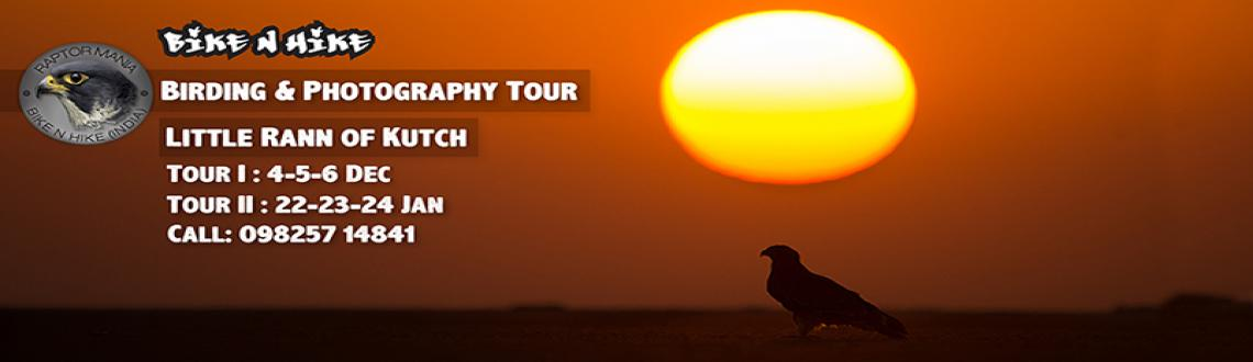 Book Online Tickets for  Birding and Photography Tour to Little , Little Ran. Head out birding at the Not-so 'Little' Rann of Kutch with Bike N Hike to experience, explore and photograph its avian wonders. The vast expanse of this cracked land often gleaming with mirages has more surprises to it than what meets the