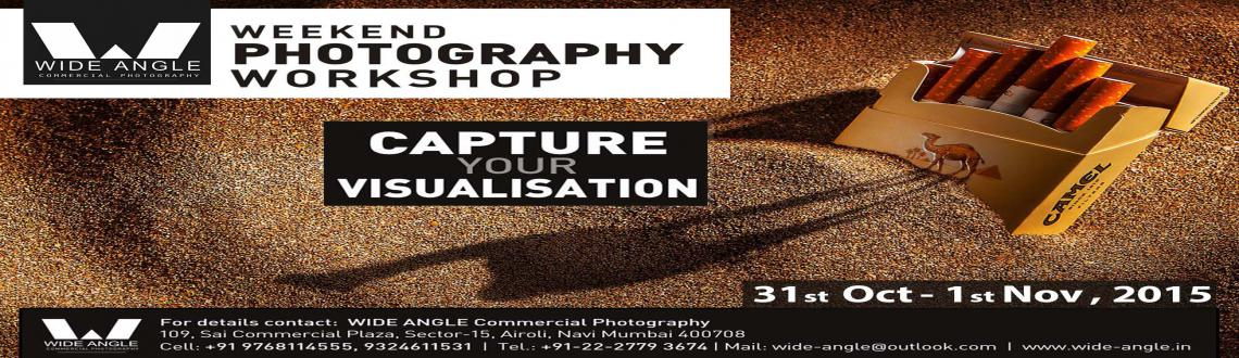 Book Online Tickets for Photography Workshop - CAPTURE YOUR VISU, Mumbai. CAPTURE YOUR VISULIZATION is an small initiative started by WIDE ANGLE to create awareness about photography among common people. Its an two days photography workshop where any person who wants to learn and experience photography of professional leve