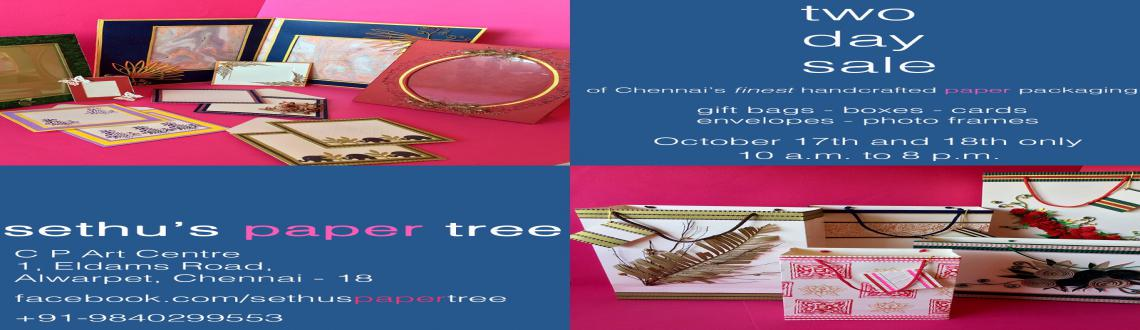Handcrafted Paper Packaging Sale by Sethus Paper Tree