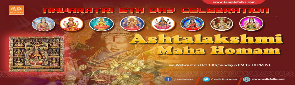 Ashta Lakshmi Maha Yagya on Navratri 6 Day Special. Live Scheduled on October 18th, Sunday 6 PM To 10 PM IST. Watch Live through VF Live TV Page.