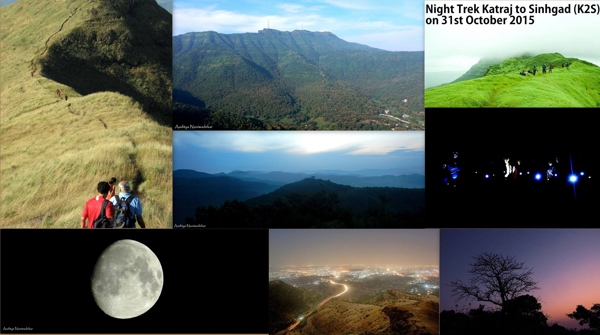Night Trek @Katraj to Sinhgad (K2S)