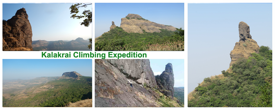Book Online Tickets for Kalakrai Climbing Expedition, Pune. Kalakrai Pinnacle Climbing Expedition  Plus Valley Adventure Invites you for new season for hardcore trekkers dream \\\