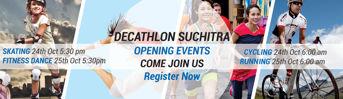 Decathlon Suchitra Inaugural Events: