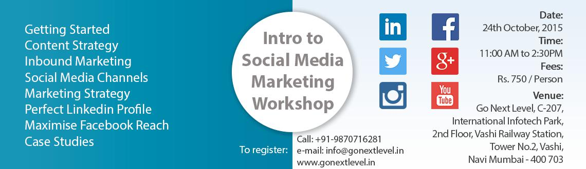 Social Media Marketing Workshop for Entrepreneurs