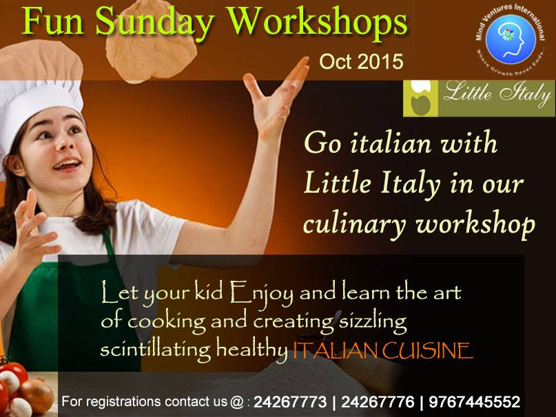 Little Chefs Italian Adventure by MIND VENTURES INTERNATIONAL