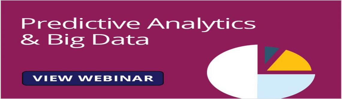 Introduction to Big Data and Predictive Analytics - FREE Webinar