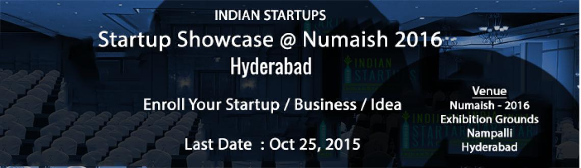 Book Online Tickets for Indian Startups - Showcase, Hyderabad.  