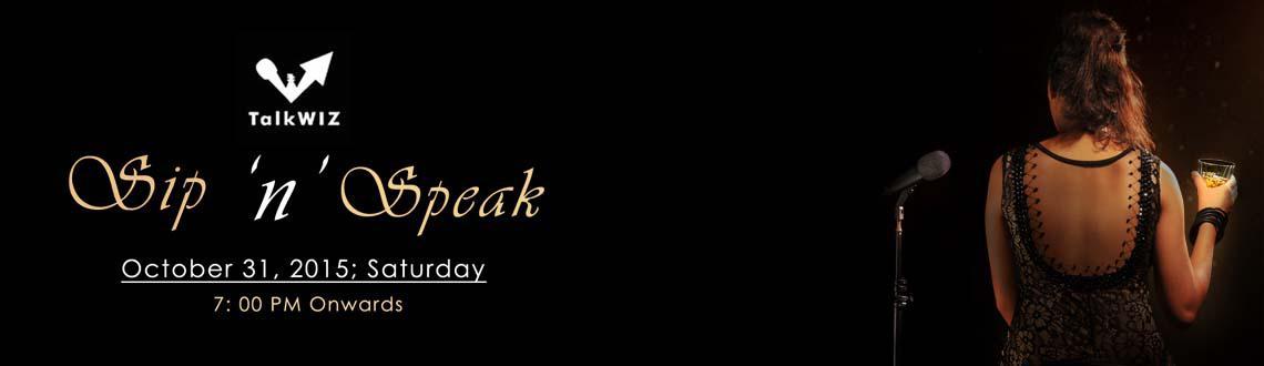 Sip n Speak- A Whisky Appreciation Workshop by Talkwiz Club